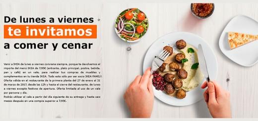 Ikea te invita a comer y cenar