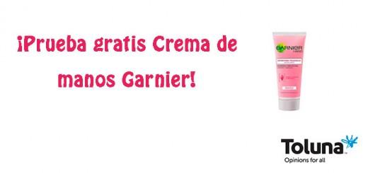 Prueba gratis Crema de manos Garnier