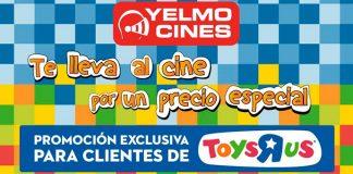 Ve al cine por un precio especial con Yelmo Cines y Toys R