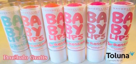 prueba gratis baby lips dr rescue maybelline
