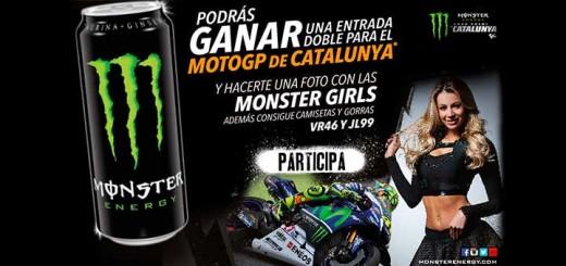 Gana una entrada doble para Moto GP con Monster Energy