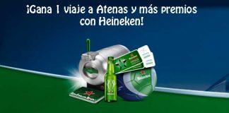 Heineken sortea 1 viaje a Atenas y más