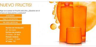 Prueba gratis un nuevo producto de Fructis