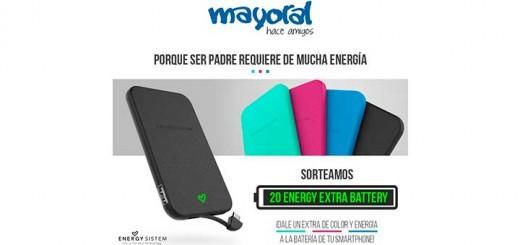 Sortean 20 baterías portátiles recargables de Energy Sistem