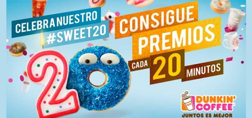 Dunkin' Coffee reparte regalos