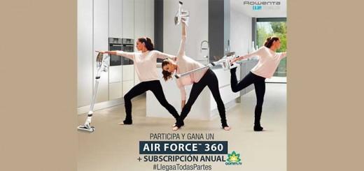 Gana un Air Force 360 con Rowenta
