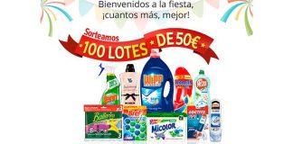Regalan 100 lotes Henkel