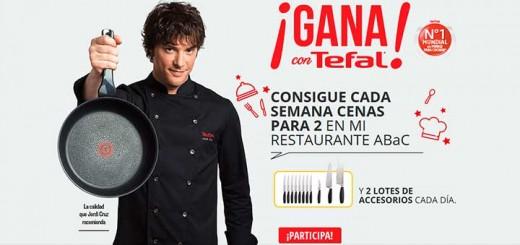 Gana cenas en el restaurante ABac con Tefal
