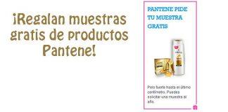 Pide muestras gratis de Pantene
