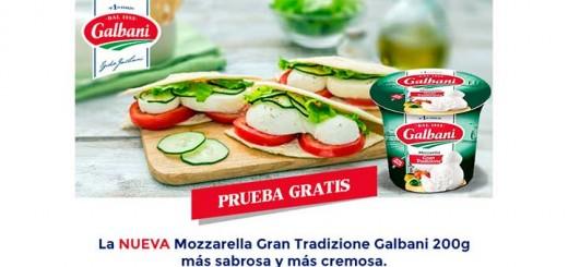 Prueba gratis la nueva Mozzarella Gran Tradizione Galbani