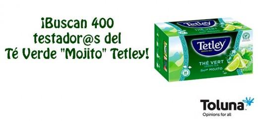 """Prueba gratis Té Verde """"Mojito"""" Tetley"""