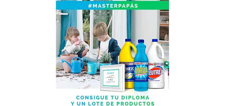 Consigue un diploma de MasterPapás