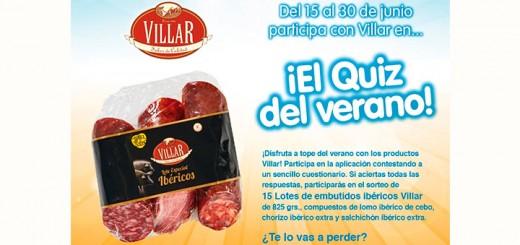 Gana un lote de embutidos Villar