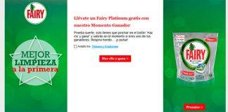Llévate gratis un Fairy Platinum