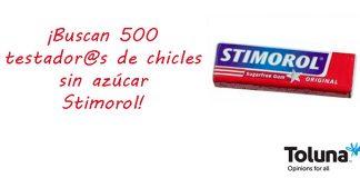 Prueba gratis chicles Stimorol