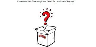 Sortean lotes sorpresa de productos Borges