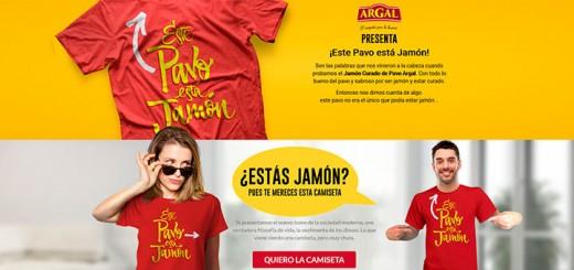 Consigue la camiseta gratis de Argal