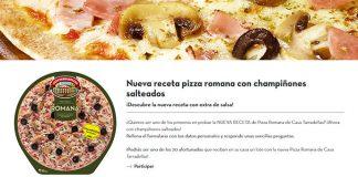 Prueba gratis la Pizza Romana de Casa Tarradellas