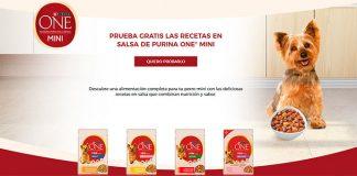 Prueba gratis las nuevas salsas Purina One Mini
