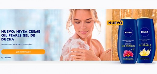 Prueba gratis Nivea Creme Oil Pearls Gel de Ducha