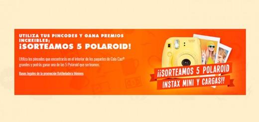 Cola Cao sortea 5 Polaroid