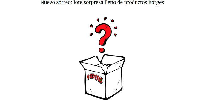 Gana un lote sorpresa de Borges