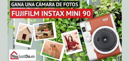 Gana una cámara Fujifilm Instax Mini 90 con YouJustDo