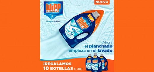Regalan 10 botellas de Wipp Express al día