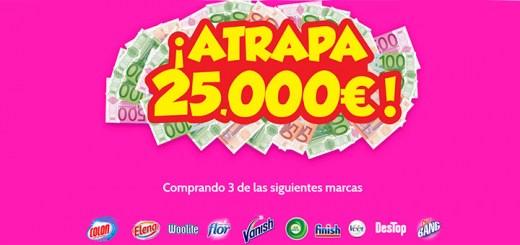 Atrapa 25.000€ con grandes marcas
