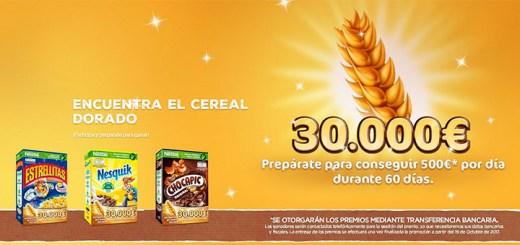 Encuentra el cereal dorado con Nestlé