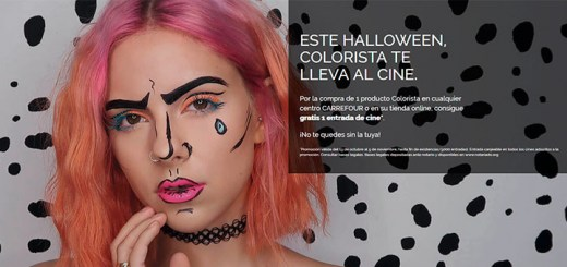 Consigue entradas de cine con Colorista