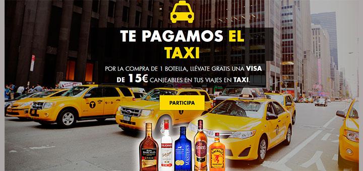 Consigue un viaje en taxi gratis