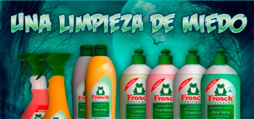 Frosch ecológico sortea 5 lotes de productos