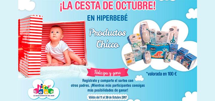 Hiperbebé sortea una cesta de productos de Chicco