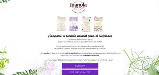 Gana un cojín terapéutico con Juanola