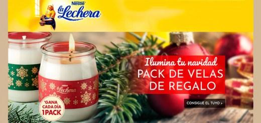 Gana un pack de velas con La Lechera