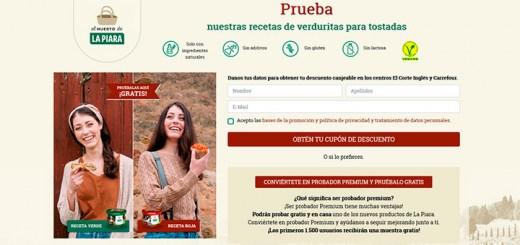 Prueba gratis las recetas de verduritas La Piara