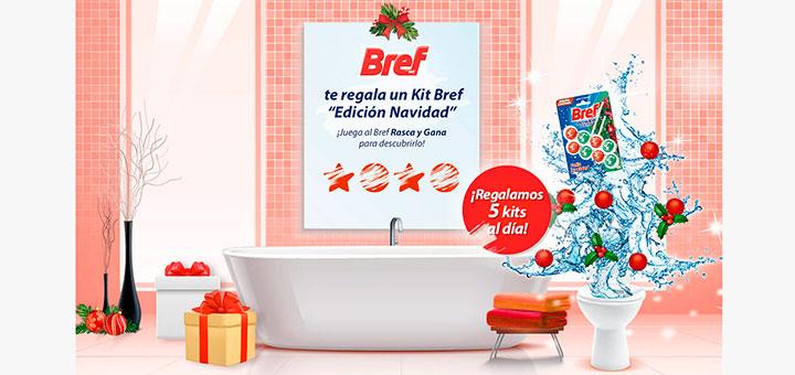 """Regalan kits Bref """"Edición Navidad"""" cada día"""