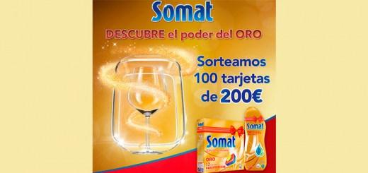Somat sortea 100 tarjetas de 200€