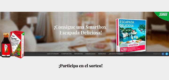 Gana una Smartbox Escapada Deliciosa con Floradix