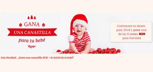 Hazte con una canastilla para tu bebé con Bebes Nuk