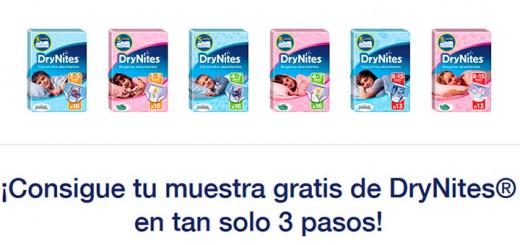 Muestras gratis de DryNites