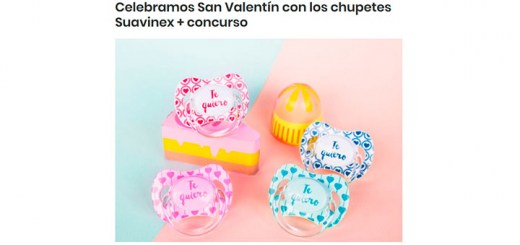 Celebra San Valentín con chupetes Suavinex