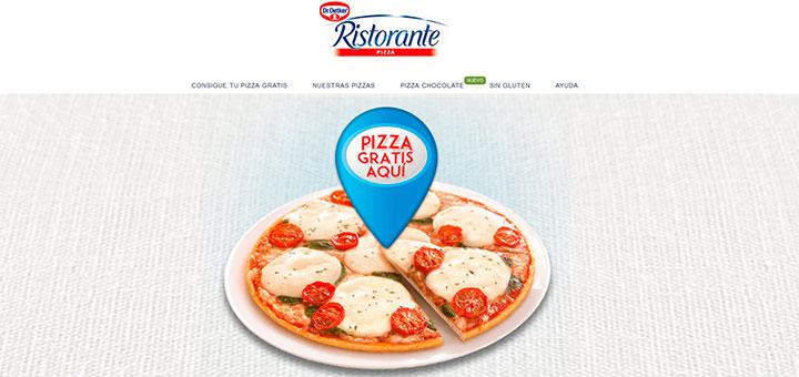 Prueba gratis una pizza Ristorante