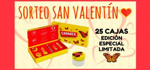 Sortean 25 cajas Edición Especial Limitada Carmex