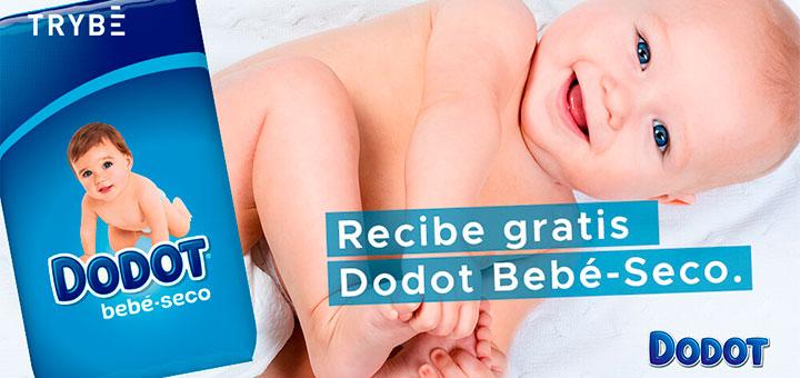 prueba gratis dodot bebe seco con trybe