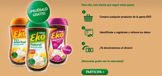 Dan a probar gratis la gama Eko de Nestlé