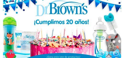 Gana un lote de productos Dr. Brown's para tu bebé