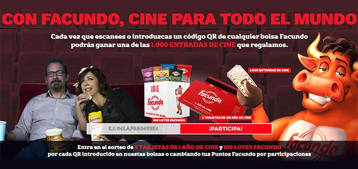 Mundo Facundo regala 1.000 entradas de cine