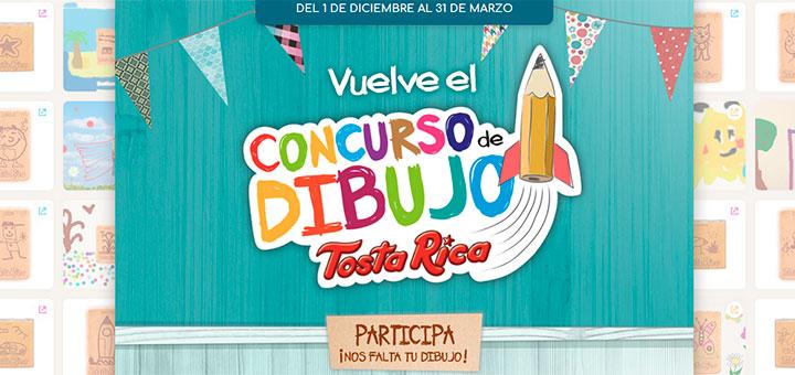 Participa en el concurso de dibujo de TostaRica